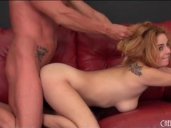 Thick cock stretches a hottie in doggystyle movies at kilogirls.com