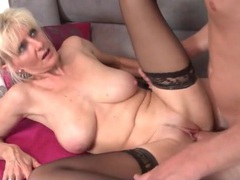 Mature blonde with an amazing body fucked videos