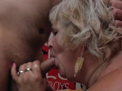 Fat hairy granny fucked by young dick videos