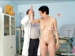 Hairy mature pussy examined by a doctor movies at sgirls.net