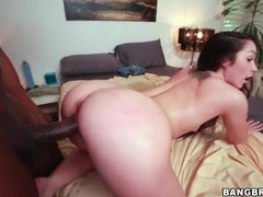 Tight pussy white girl rides big black cock videos