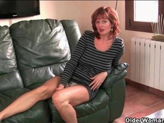 Amateur redhead mature strips to play with her cunt videos