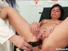 Pierced pussy mature gets a gyno exam videos