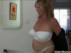 Old lady models sexy clothes for you videos
