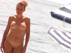 Amateur girls filmed at the nude beach movies at lingerie-mania.com