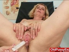 Toys and speculum insdie her granny pussy movies at kilopills.com