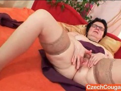Frisky granny has solo sex with a vibrator movies at kilopills.com