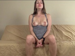 Mistress teases with her gorgeous tits movies at kilopills.com