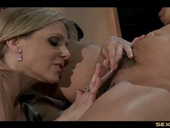 Julia ann buries her face in a lesbian cunt videos
