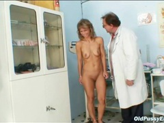 Sexy medical exam with her mature pussy movies at sgirls.net