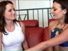 Lesbians with lithe bodies kiss and lick lustily movies at sgirls.net