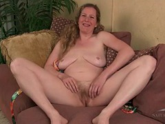 Blonde milf amateur has a hairy bush movies at relaxxx.net