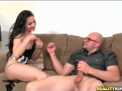 His huge dick gives her pussy what it needs clip