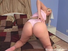 Thong makes her ass look fucking fantastic tubes