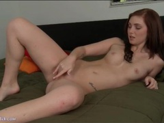 Hot young natalie lust masturbates her pussy movies at lingerie-mania.com