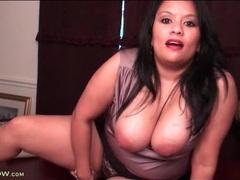 Curvy latina secretary lucey perez solo movies at kilovideos.com