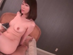 Pink japanese cunt filled with a cumshot tubes at japanese.sgirls.net