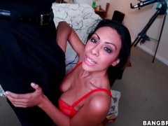 Big black cock in the mouth of cassandra cruz videos