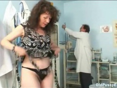 Hairy pussy medical exam from the doctor movies at lingerie-mania.com