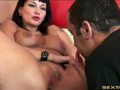 Pierced momma fingered and fucked lustily movies at lingerie-mania.com