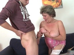 Big young dick sucked on by a curvy mature movies at adspics.com