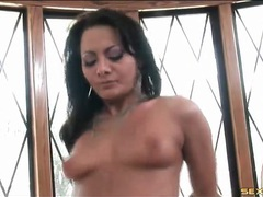 Hot brunette is a goddess of anal sex videos