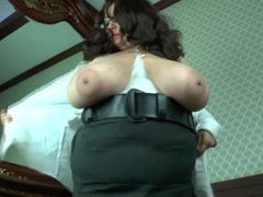 Girl has gigantic bbw tits to show off movies at kilovideos.com
