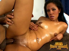 Slick arab pussy fucked by a fat black cock movies at kilosex.com