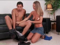 Skinny alina long sits on a fat dick movies at dailyadult.info