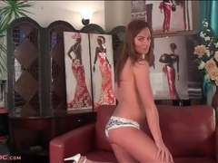 Lace is lovely on tender solo girl karon ross movies at lingerie-mania.com
