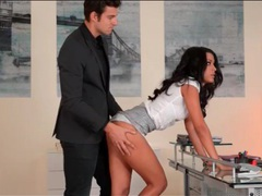 Secretary layla sin submits to her boss videos