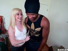Sweet bleach blonde kira lake sucks bbc videos