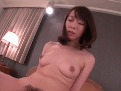 Hairy japanese pussy slowly rides his cock movies at find-best-pussy.com