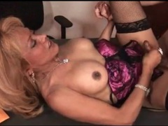 Tgirl dressed in lingerie gets fucked up the ass videos