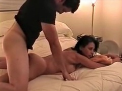 Boyfriend mounts his lady and fucks her doggystyle movies at sgirls.net