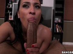 Big knob sucked passionately by a latina girl movies at freekilosex.com