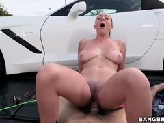 Buxom bikini chick brooke wylde sucks dick outdoors movies at kilopics.net