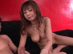 Mouth fucking and pussy pounding with a japanese girl tubes at japanese.sgirls.net