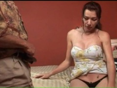Foreplay with a shemale milf is tender videos