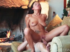 Romantic fireside sex with whitney westgate movies at sgirls.net