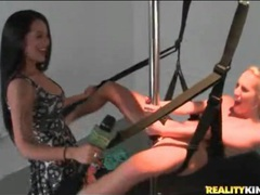 Amateur tries the sex swing and fucks a big dildo movies at find-best-mature.com