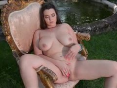 Curvy nude girl masturbates erotically outdoors movies at find-best-mature.com