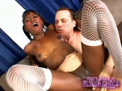 Firm body black girl covered in oil and riding dick videos