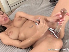 Anal toy banging fun with a big breasts girl movies at kilovideos.com