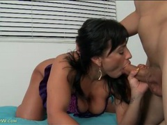 Curvy becca diamond sucks thick cock sensually videos