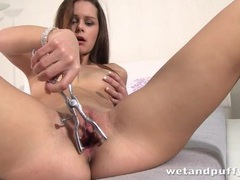 Teen opens her wet vagina with an instrument 2 movies at relaxxx.net