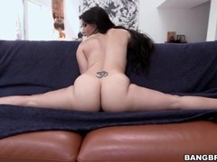 Fat ass tease video with a flexible babe tubes