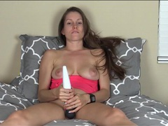 Vibrator play and edging talk with lelu love videos