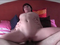 Amateur with truly perfect tits grinds on his cock movies at find-best-ass.com