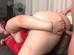 Sweaty doggystyle fuck with a bent over bbw tubes